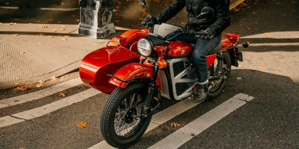 Ural E Project Sidecar