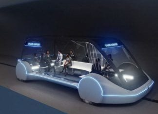 Pods autonomos the boring company