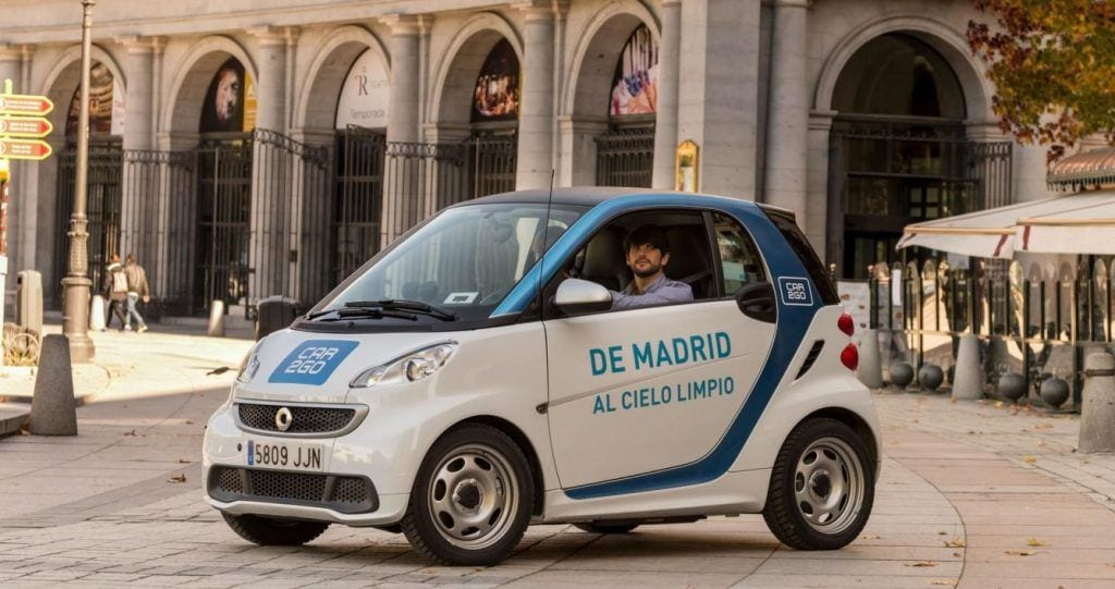 car2go carsharing en Madrid