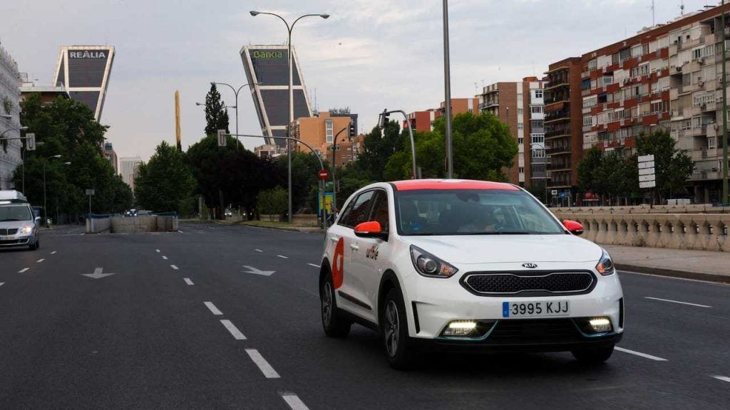 Kia Niro PHEV WiBLE Madrid
