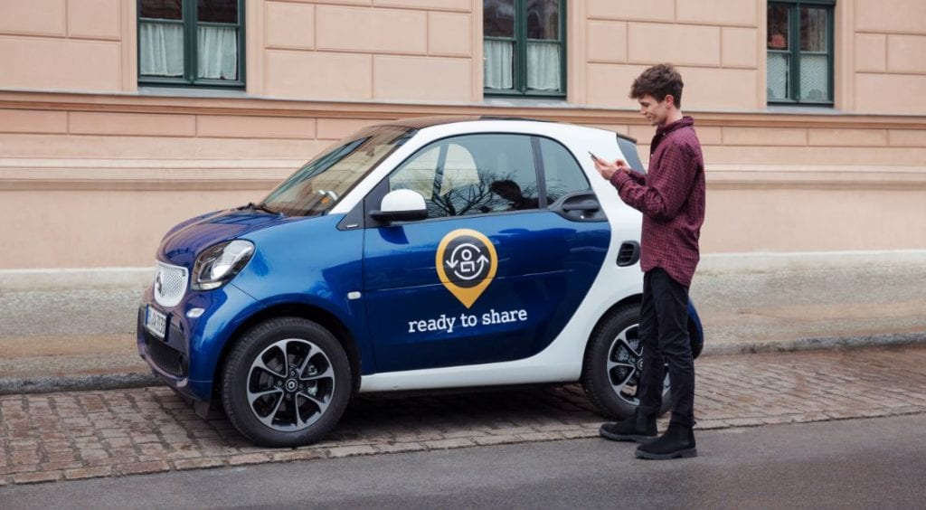 Ready To Share Carsharing en España Smart
