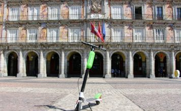 patinetes eléctricos compartidos Lime Madrid