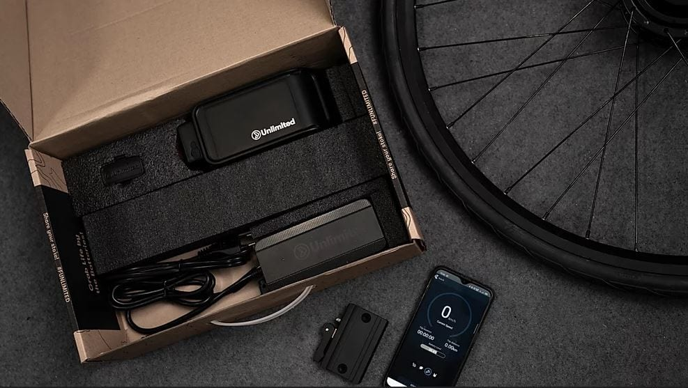 Kit de conversión bici Unlimited eBike Kit